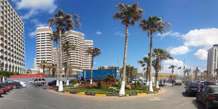 Chantier en Lybie